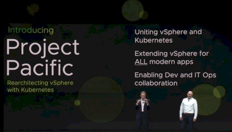 VMworld US 2019: VMware transforms vSphere into Kubernetes native platform