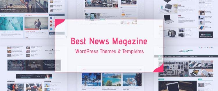 15+ Best Responsive WordPress News Magazine Themes for 2019