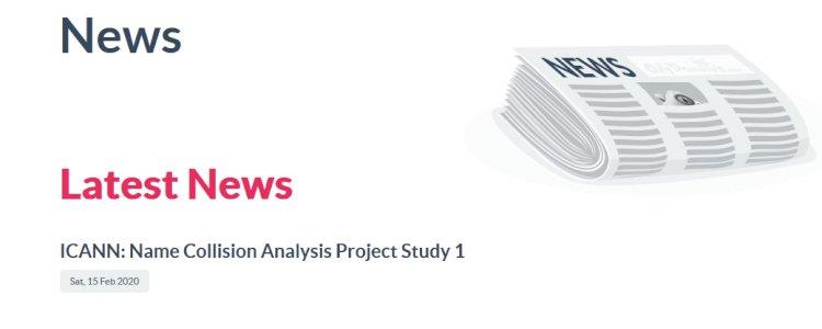 ICANN: Name Collision Analysis Project Study 1